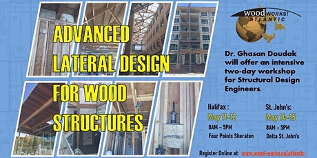 Advanced Lateral Design for Wood Structures tickets