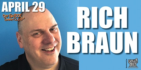 Comedian Rich Braun live at Off The Hook Comedy Club, Naples, Florida  tickets