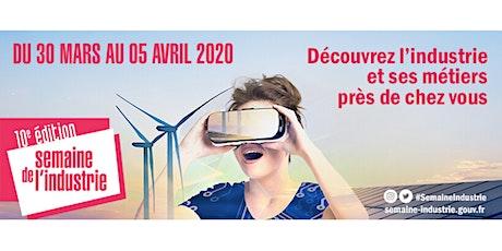 Lancement Semaine de l'Industrie 2020 billets