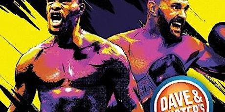 Wilder vs Fury 2 tickets