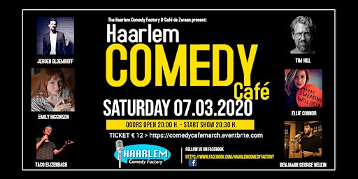Haarlem Comedy Café March