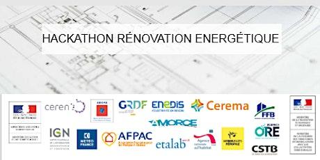 Hackathon RenovAction sur la rénovation énergétique billets