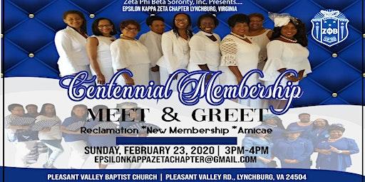 Centennial Membership Meet and Greet