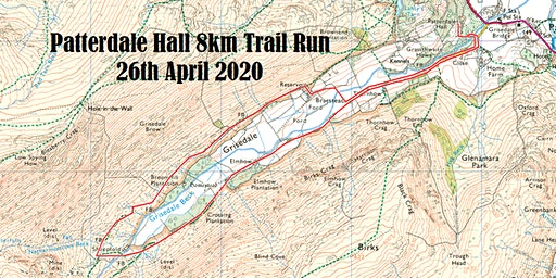 Patterdale Hall Open Day - 8km Trail Run 26th April 2020 1.30pm start.