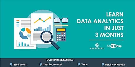 Certification in Data Analytics tickets