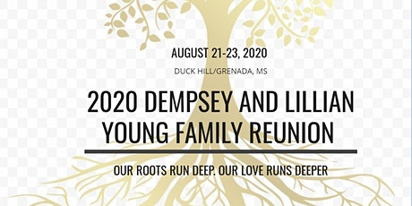 2020 Dempsey and Lillian Young Family Reunion tickets