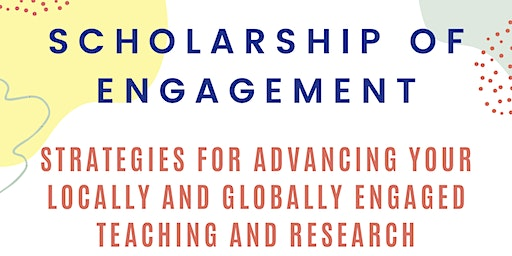 Scholarship of Engagement Workshop