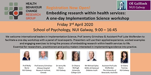 Embedding research within health services: Implementation Science workshop