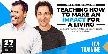 LIVE CAST: TONY ROBBINS & DEAN GRAZIOSI (Oklahoma City) *THURSDAY 2/27* tickets