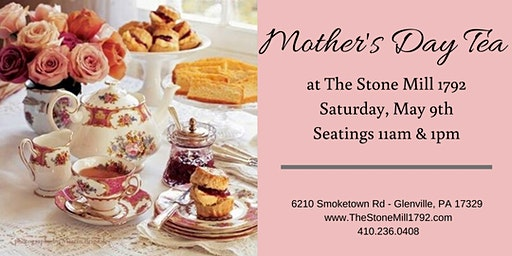 Mothers Day Tea!