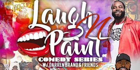 Laugh and Paint Comedy Show- Raleigh NC tickets