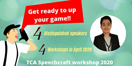Speechcraft Workshop 2020 part 1 - Design and delivering dream speeches tickets
