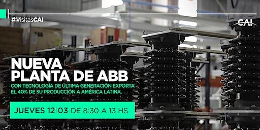 Visita a la nueva planta de ABB en Esteban Echeverría