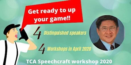 Speechcraft Workshop 2020 part 3 - The Art of Effective Evaluation tickets