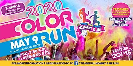 Copy of 7th Annual Mommy & Me Run 5k/1m Run/Walk Color Run tickets