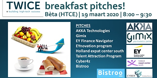 TWICE Breakfast Pitches (Bèta)