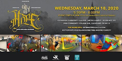 """City Of Hope"": Tri-C Metro Campus Center Mural Documentary Discussion"