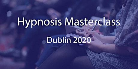 Hypnosis Masterclass with Cormac Colleran tickets