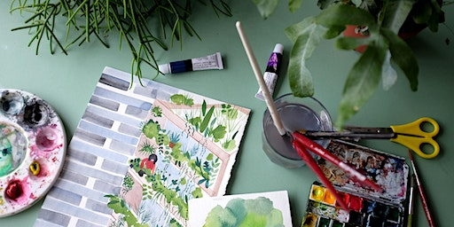 Watercolour Houseplant Workshop: Forest London