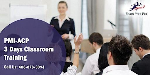 PMI-ACP (PMI Agile Certified Practitioner) Training in Casper