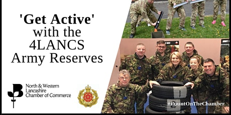 Get Active with 4 LANCS Army Reserves tickets