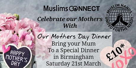 Our Mothers Dinner tickets