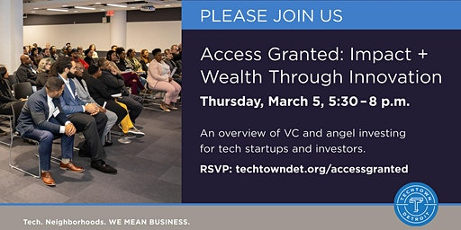 Access Granted: Impact + Wealth Through Innovation