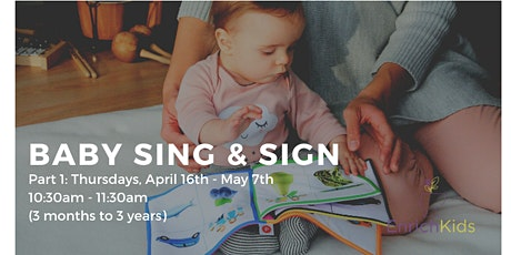 Baby Sing & Sign - Part 1 tickets