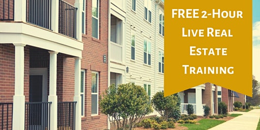 FREE 2-Hour Live Real Estate Training - Charlotte, NC