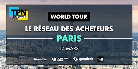 TPN - Le Réseau Des Acheteurs à Paris - World Tour 2020 tickets