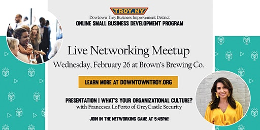 Happy Hour Networking at Brown's Brewing Co.