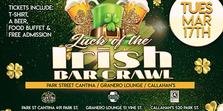 Luck of The Irish Bar Crawl tickets