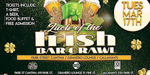 Luck of The Irish Bar Crawl