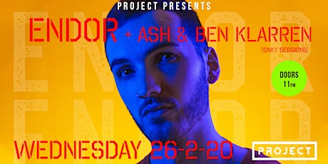 Endor (Pump It Up)  at Project Waterford (Rag Week After Party) tickets
