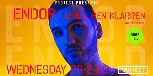 Endor (Pump It Up)  at Project Waterford (Rag Week After Party)