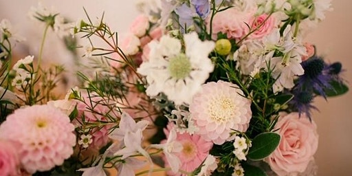 Mother's Day Flower Workshop with afternoon tea!