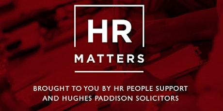 'HR Matters' tickets