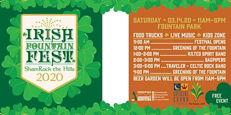 Irish Fountain Fest tickets