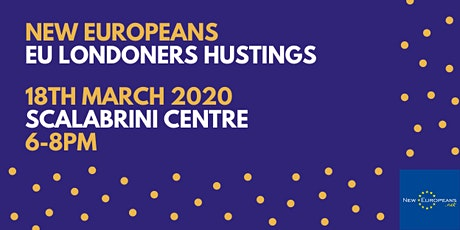 EU Londoners Hustings - Scalabrini Centre tickets