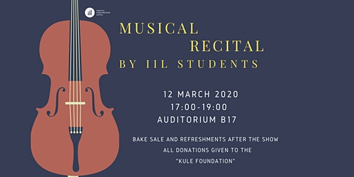 Musical Recital by IIL Students    /  Récital de Musique par les Élèves IIL