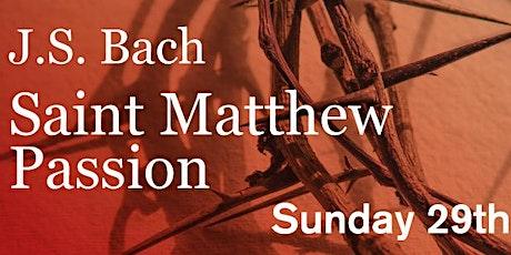 Saint Matthew Passion tickets