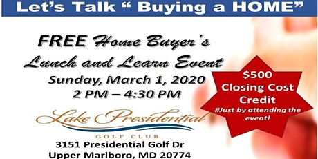 Home Buyer's Event - Lunch and Learn tickets