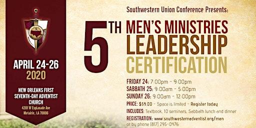 5th Men's Ministries Leadership Certification
