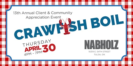 Nabholz Crawfish Boil tickets