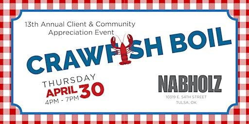 Nabholz Crawfish Boil