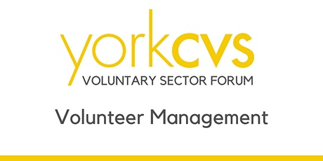 Volunteer Management Forum tickets