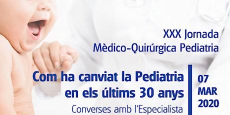 Com ha canviat la Pediatria en els últims 30 anys. HM Nens entradas