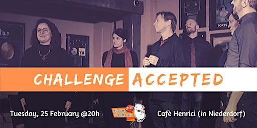 Challenge Accepted - Improv at Café Henrici in Niederdorf