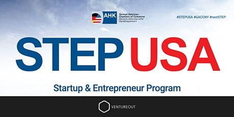 STEP USA: A German Startup Pitch Night with GACCNY tickets