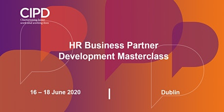 HR Business Partner Development - Masterclass - POSTPONED tickets